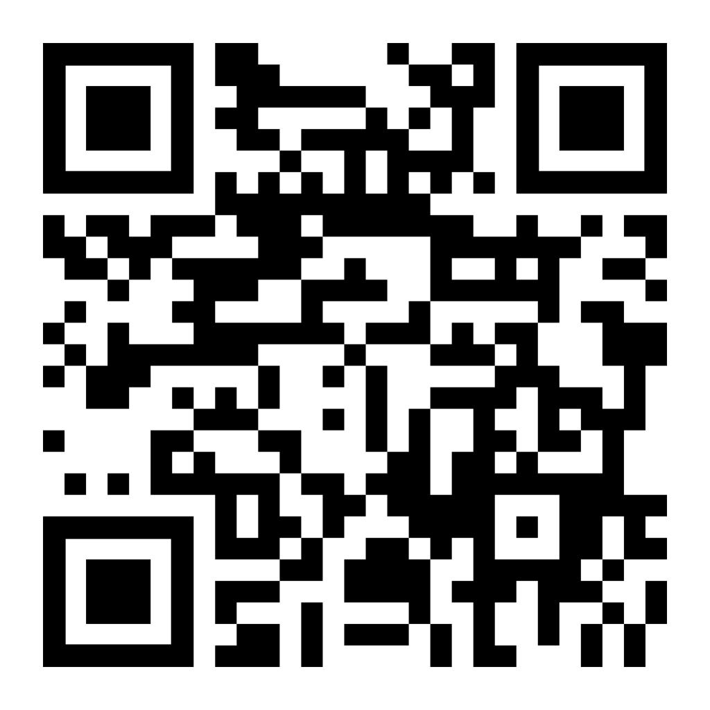 QR-Code für den Aufruf der Website auf dem Smartphone