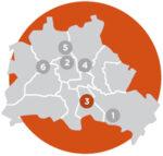 Berlin-Karte-Hufeisensiedlung